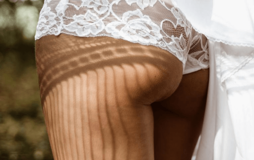 a woman's behind - tantric massage